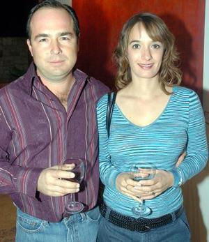 Alberto Siller y Emma de Siller.