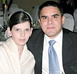Sofía Calvert y Héctor Rivera.