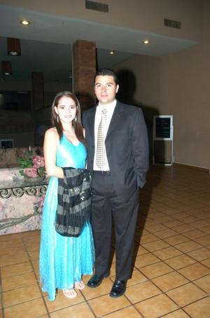 <b>08 noviembre 2005</b><p> Salvador y Sofía Necochea.