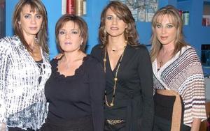 Verónica de Meléndez, Yesenia Tisando, Claudia Treviño y Marcela Ramírez.