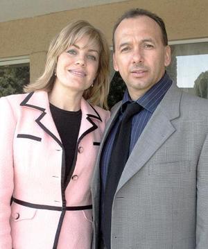 Rosaura y Miguel Quintero.