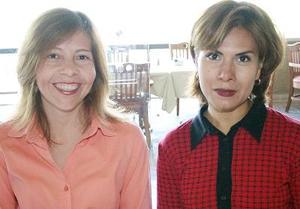 Ana Ramos y Dora Alicia de la Cruz.