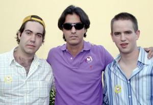 Yamil Kort, Sergio Campa y Daniel Gómez.