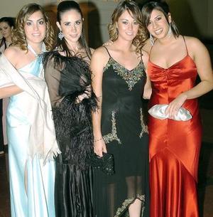 Bárbara Madero, Priscila Martín, Ana Sofía Rodríguez y Romy Humphrey.