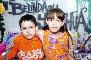 Belinda y Joshua Faya Atilano