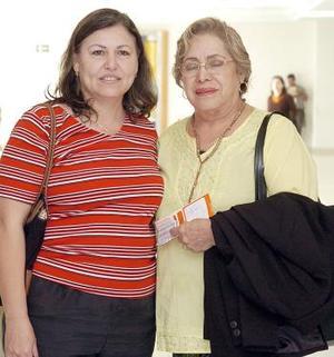 Mireya y Lorenza Martínez viajaron con destino a Tijuana.
