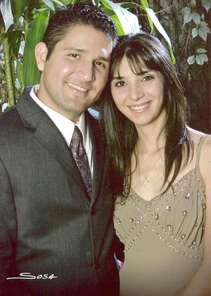 Luis Fernando Rodríguez Castillo y Dora Isabel Saldaña Novelo.