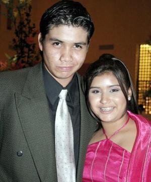 Carlos López y Karen Ávila.