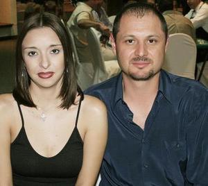 Carla Castro y Ricardo Jaramillo.