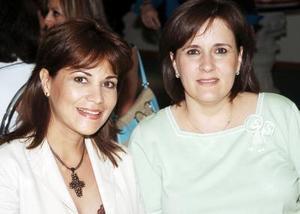 Diana de Nahle y Nina Sáenz.