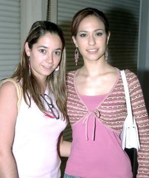 Dora Obregón y María Quintanar.