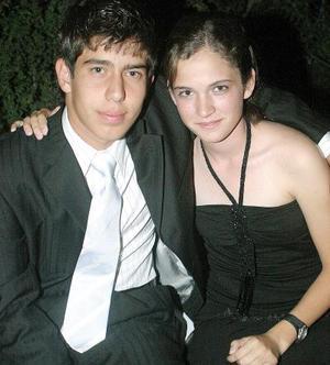 Adrián Murra y Ana Tere Berlanga..