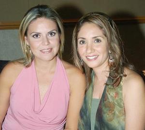 Carmen María de Wolff y Brenda de Sánchez..