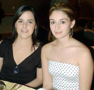 Diana Daher de Kishi y Ana Cristina Diez