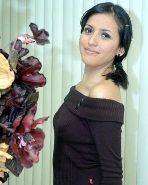 Azucena Guerra, de Tercero B. de la Facultad de Derecho de la UAC.