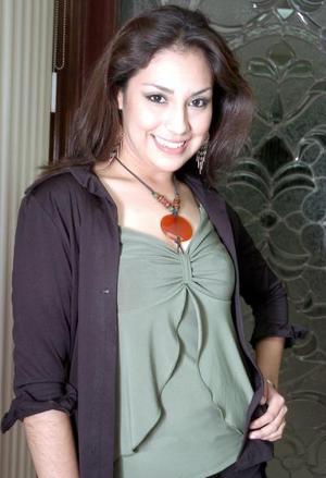 Diana Lomas, de Primero D de la Facultad de Derecho de la UAC.