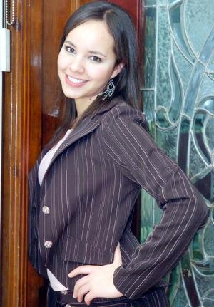 Hilda Guzmán, de Tercero C de la Facultad de Derecho de la UAC.