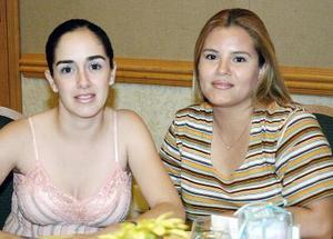 Marusa Fernández de Máynez y Gaby Cisneros de Hurtado
