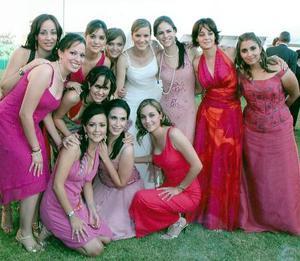 Brenda, Daniela, Lorena, Mercedes, Susy, Ana Claudia, Gaby, Marcela, Lucía, Iradia, Soraya y Lisset