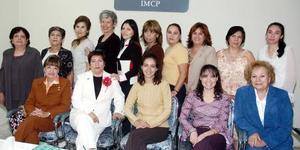 Patricia Morales, Violeta Juárez, Norma Rojo, María Amida, Rosalinda de Salazar, María Luisa de Arellano, Esperanza Zertuche, Graciela Montoya, Graciela González y demás demas del Comité del Colegio de Contadores.