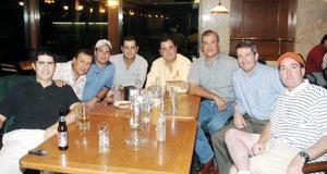 Marcelo, Nito, Ricky, Nacho, Toño, Tonus, Marcelo y Sergio.