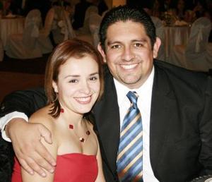 Ana Laura Martínez y Arturo Moreno.