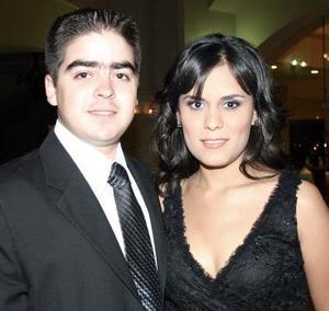 Carlos Niño de Rivera y Sofía Sarmiento.