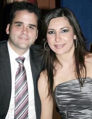David Broughtan y Sofía Corrales.