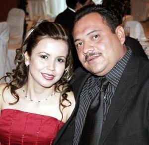 Guadalupe Félix y Héctor Ramírez.