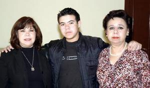 Ana Guzmán, Luis Ariel Juárez, Rosa María Guzmán