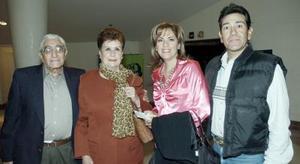 Ángel, Lilia, Adriana y Gabriel Aguilar.