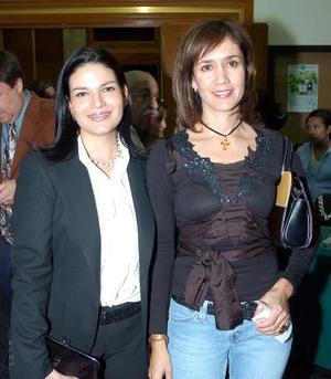 Azucena Báez y Lucero Galindo.