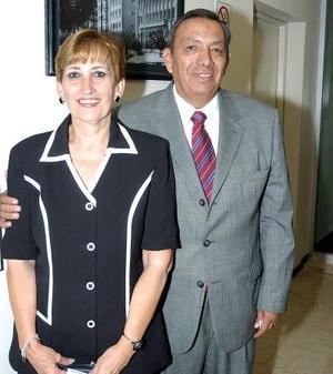 Carlos García Carrillo y Mercedes Araluce de García.