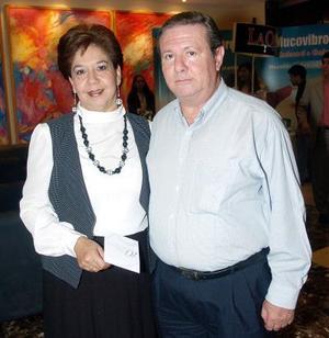 Francisco Ortega y Lucía de Ortega.