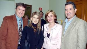 Gerardo Berlanga, Ana Karina Santibañez, Nicol Yarahuan y Rosa Martha Vega.