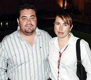 Kristian Hernández y Alejandra Ramos de Hernández.
