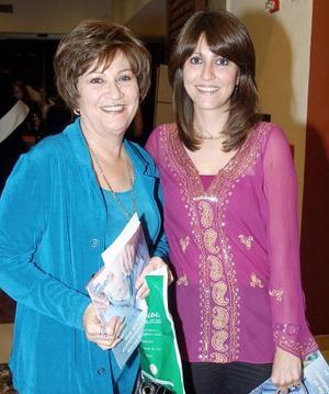 Tanira Serhán y Soraya de Serhán.