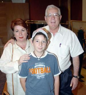 Federico, Patricia y Gerardo Ramos.