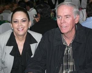 Olga y Perfecto Gallegos.
