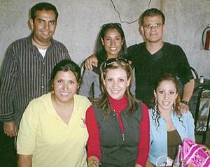 Rolando Gutiérrez, Griselda Anguiano, Ricardo Rodríguez, Idalia Pérez, Astrid Casale y Gaby Monárrez.
