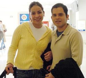 Alejandro González y Moisés Garay viajaron a Nueva York.