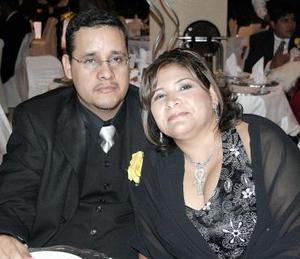 Alejandro Escandón y Selene de Escandón.