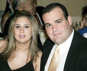 <b>15 de noviembre 2005</b><p> Selina Pérez y José Martín.