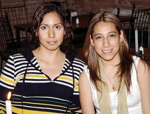 Any Mena Orozco y Gaby Fragoso.