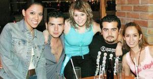 Mey Yein, Abraham Aguilar, Mercedes Molto, Javier Dávila y Gaby Ruiz.