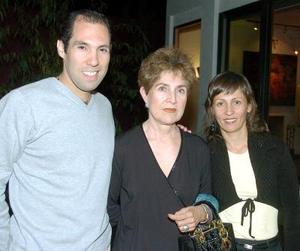 Juan, Norma y Franch.