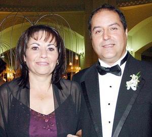Margarita Cuerda de Llamas, y José  Luis Llamas Sotomayor