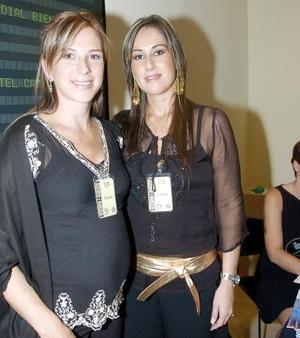 Gisela Fernández y Liliana Rodríguez.