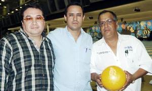 Eduardo Balderas, Édgar Villasana y Armando García.