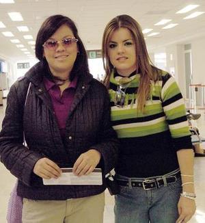 Blanca García y Mariana Ramírez viajaron a Taxco.